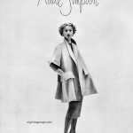Lisa Fonssagrives wearing Adele Simpson 1951