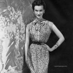 Simplicity Spring Pattern Book 1953 / Mary Jane Russell