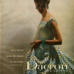 Dacron 1957 - Mary Jane Russell wearing Jerry Parnis