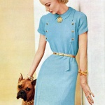 COLUMBIA Knit Pattern Book 1952 / Sunny Harnett