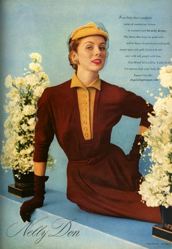 Suzy Parker / Nelly Don 1951