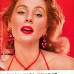 "Revlon ""Touch-and-Glow"" 1954 / Suzy Parker"