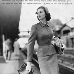 Handmacher Suits / Suzy Parker 1952