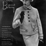 Botany by Gilbert Originals 1953 / Suzy Parker