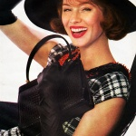 Harper's Bazaar September 1960 / Suzy Parker, photo by Richard Avedon